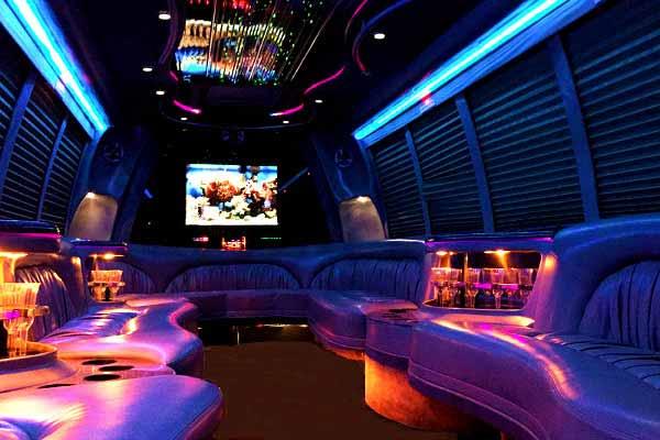 18 passenger party bus rental Amarillo