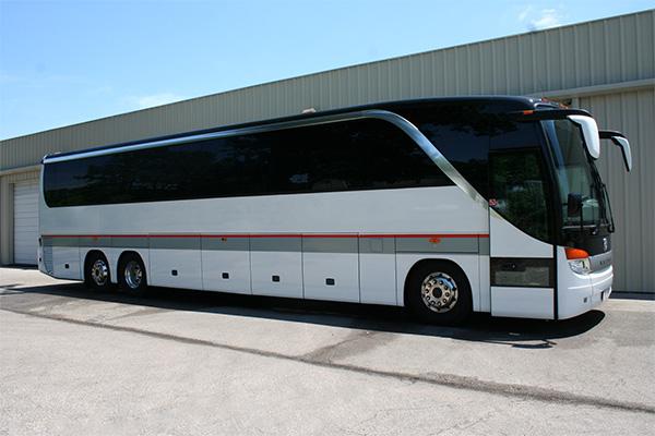 Amarillo 56 Passenger Charter Bus